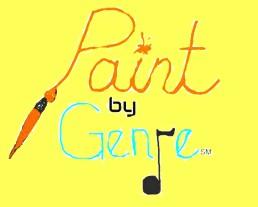 Paint by Genre logoyellow